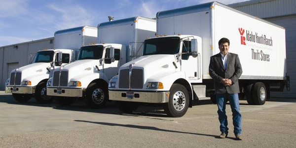 Idaho Youth Ranch's Gregg Crow says leasing new trucks was the best way to facilitate the...
