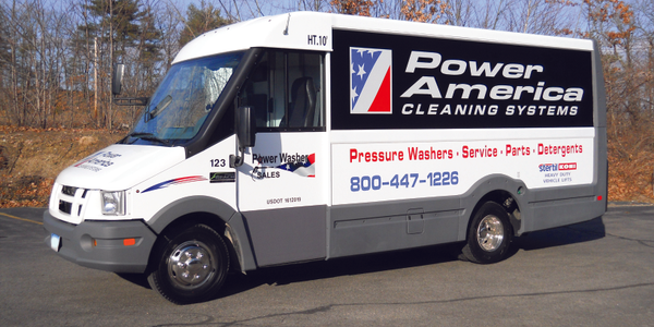 Photos courtesy of Power Washer Sales.This fleet modified Reach vans with a winch to aid...