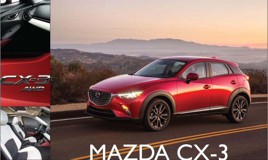 Mazda CX-3: Tech-Savvy Compact Crossover