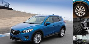 Showroom - Mazda CX-5: New Crossover Stands Out in a Crowd