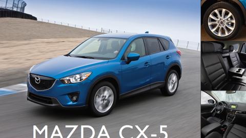 2013-MY Mazda CX-5