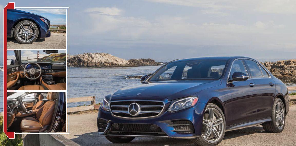 Mercedes-Benz E-Class: Built for Comfort