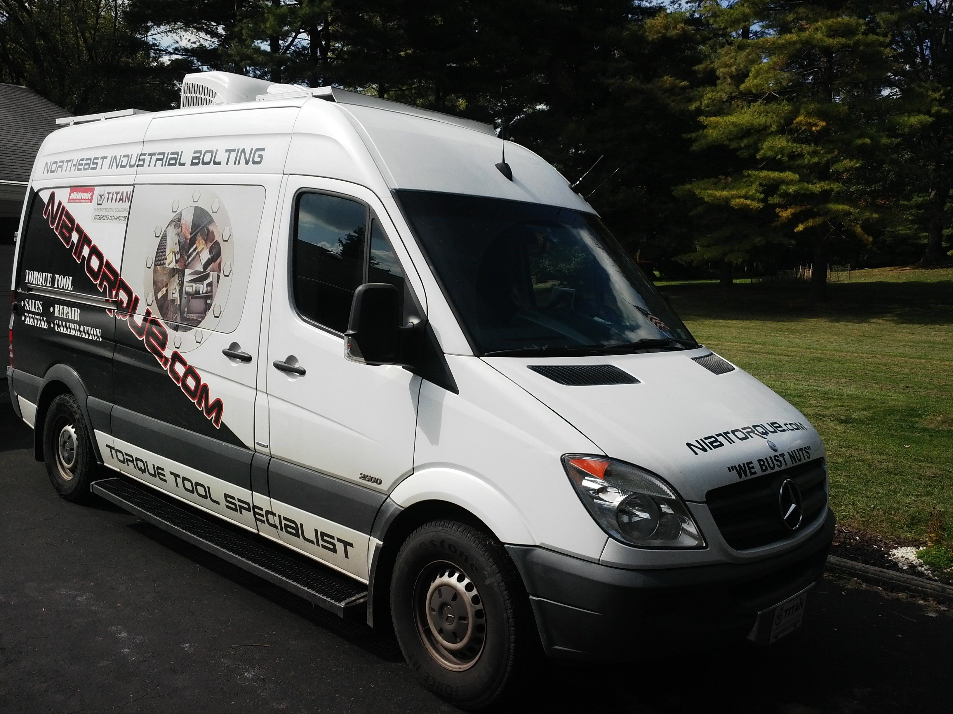 Extreme Van Upfit Helps Tool Business Go Mobile