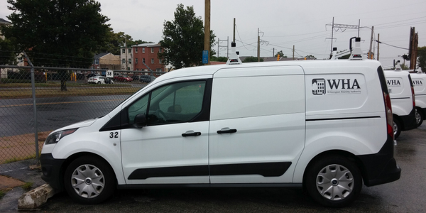 The Wilmington Housing Authority has received new Ford Transit Connect vans. Photo of Enterprise...