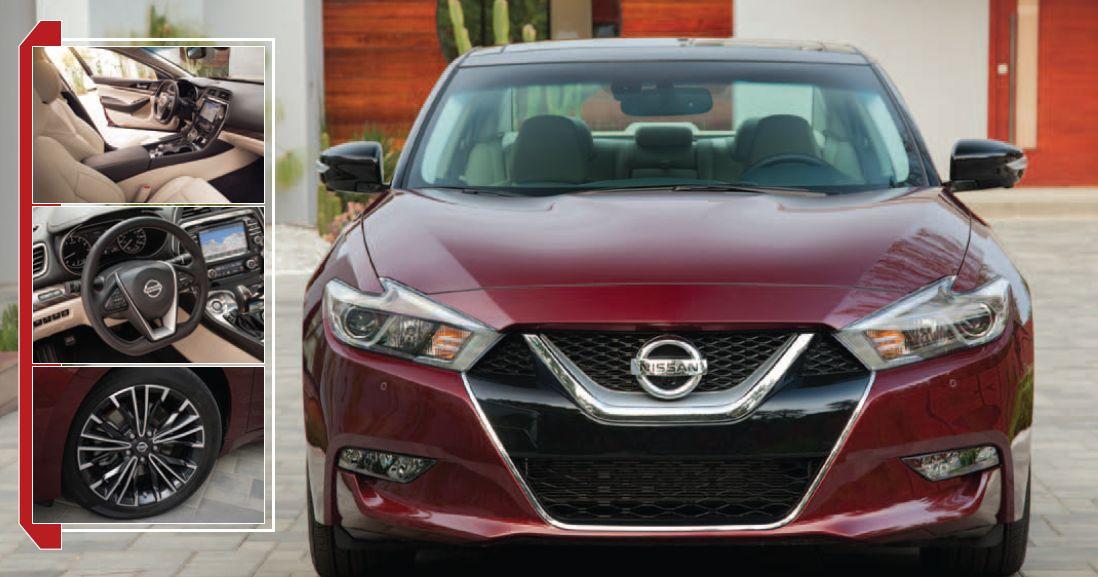 Nissan Maxima: 300-Horsepower Sport Sedan