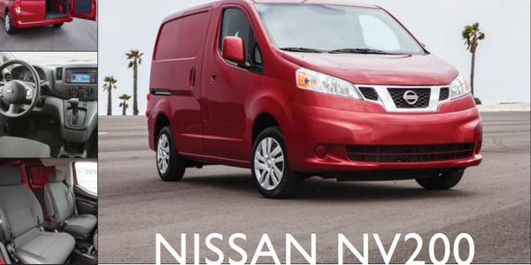 Nissan NV200: Comfy Compact Van