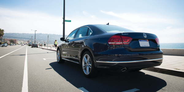 The 2014 Volkswagen Passat TDI Clean Diesel SE has a 2.0L inline four-cylinder engine that...