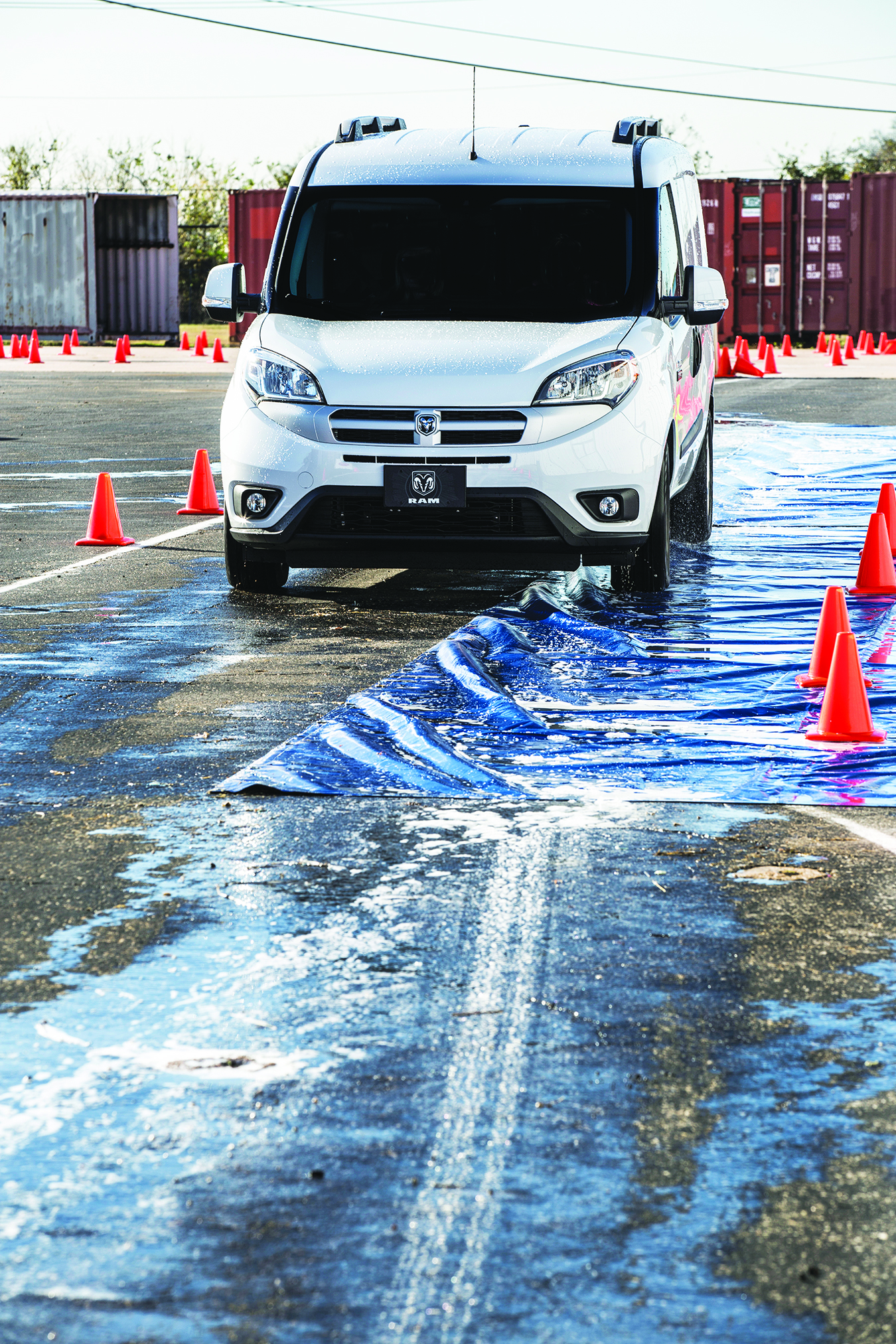 Vans Add Next-Gen Safety Technology