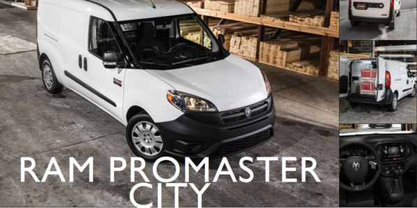 Ram ProMaster City: Small Van Trendsetter