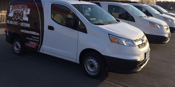 Darren Warth added four new Chevrolet City Express vans to his barbecue catering fleet.