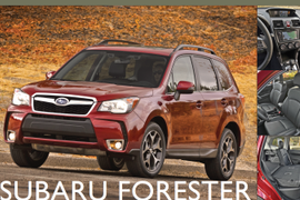 Showroom - Subaru Forester: New Body, More Features, Better MPG