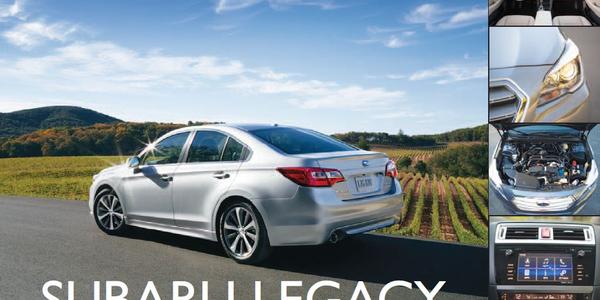 Subaru Legacy: All-Wheel Midsize Sedan