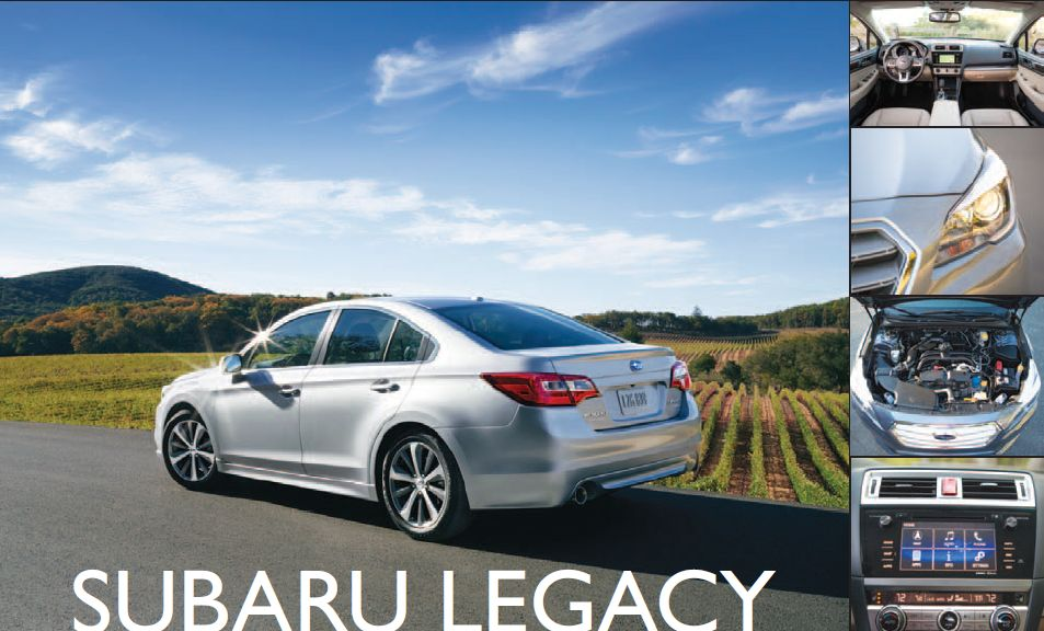 Subaru Legacy: All-Wheel Midsize Sedan