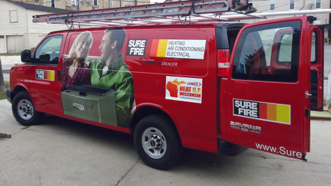Expanding into commercial services and responding to emergency calls, Sure-Fire Inc. in...