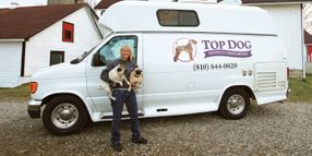 Customized Van Helps Groomer Run Mobile Salon