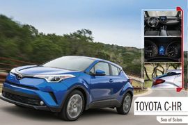 Toyota C-HR: Son of Scion
