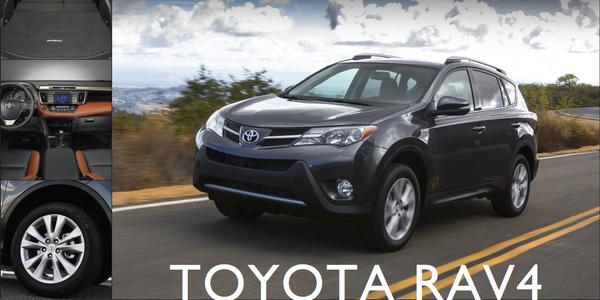 The 2013-My Toyota RAV4.