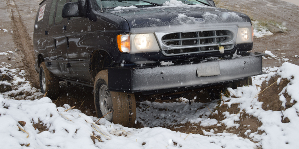 Winton's upgraded work truck includes a four-wheel drive conversion to reach clients in...