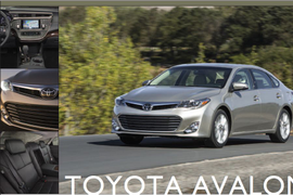 Toyota Avalon: Refinements All Over The Place