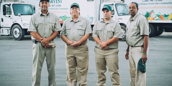 Forgotten Harvest's 26 truck drivers rescue food from 800 food donors and deliver to 280 food...