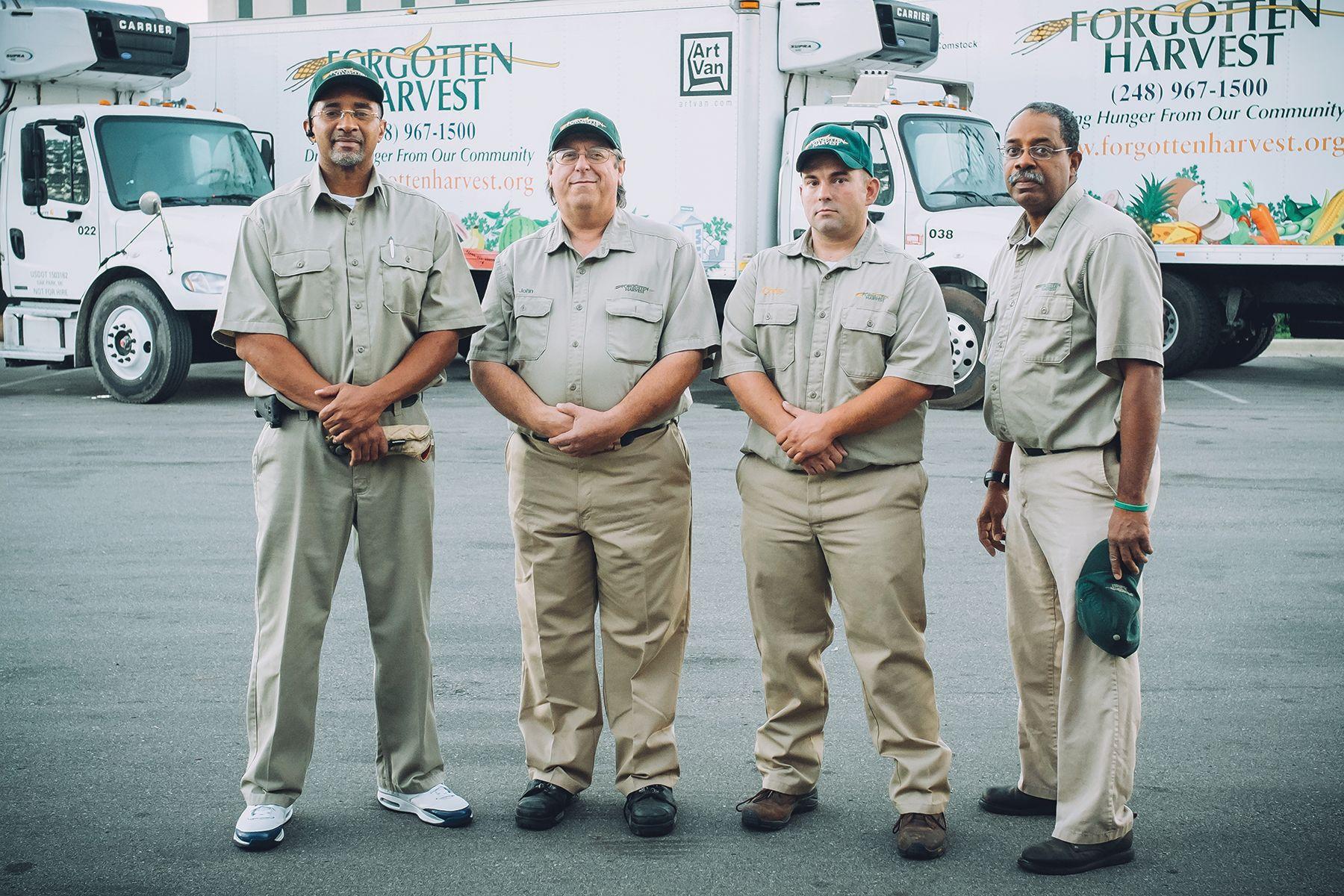 Nonprofit's Trucks Rescue 41M Pounds of Food
