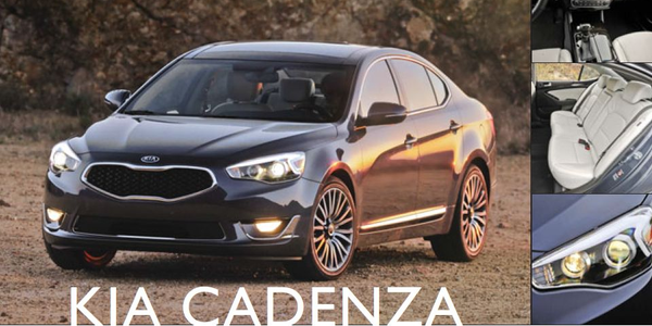 Kia Cadenza: Standard Equipment, Redefined