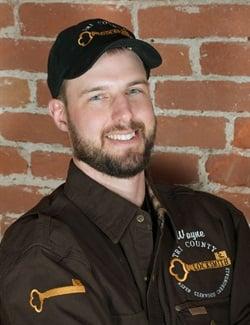 Wayne Winton, owner of Tri-County Locksmith Service.