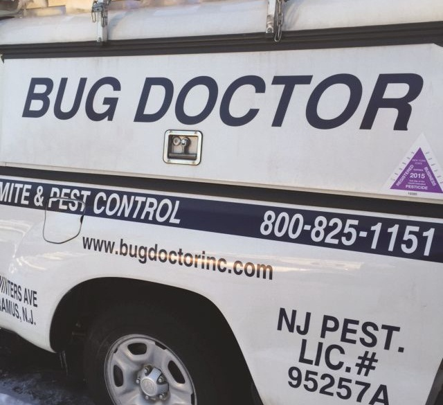 "Bug Doctor has a 1-800 ""How Am I Driving"" number on each of its fleet vehicles to help promote safe driving. Photo courtesy of Bug Doctor."