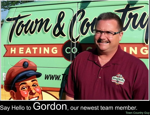 The company posts a photo of new employees on its Facebook page, with its vehicle wrap in the background.