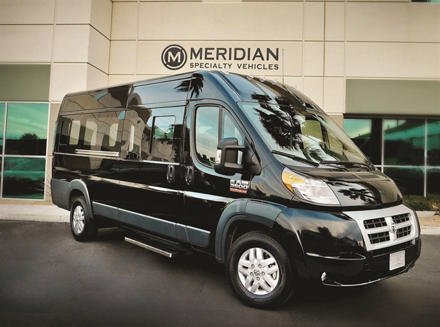 Meridian Specialty Vehicles Ram Promaster Penger Van Will Be Available To The Public Later This