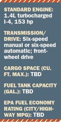 Specs for 2016 Chevrolet Cruze.