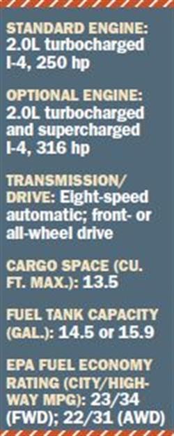 Specs for 2017 Volvo S90.