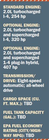 Specs for 2018 Volvo XC60
