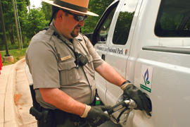 National Park Adds Propane Buses, Trucks