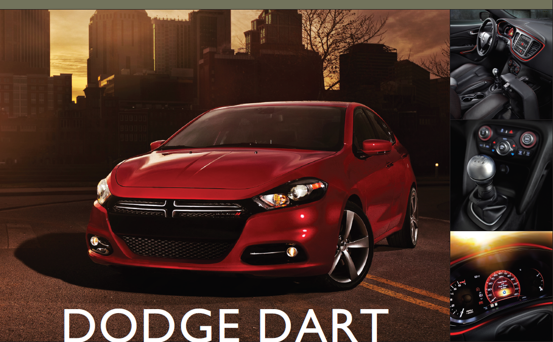 Showroom - Dodge Dart: Low-Priced and Sporty Compact Sedan