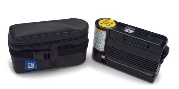 The tire sealant and inflator kit for the 2012-MY Chevrolet Silverado 1500. Photo Courtesy of...