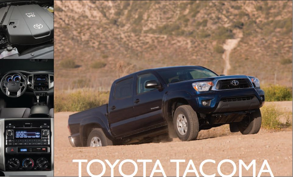 Toyota Tacoma: Plenty of Pickup