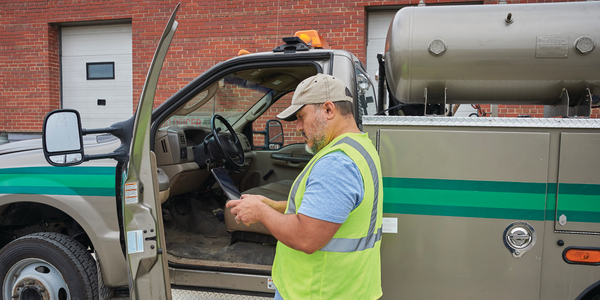 Under the new ELD rules, inspection officers will ask to see the ELD screen, which must be made...