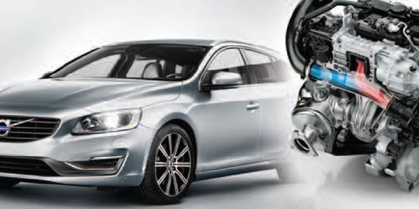 Volvo's new two-liter, four-cylinder engines in the Drive-E powertrain family will be launched...