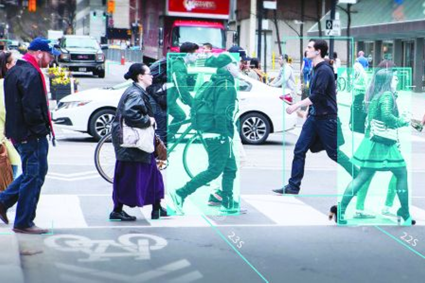 Mobileye's chip-and-camera technology is constantly scanning for objects and then measuring the...