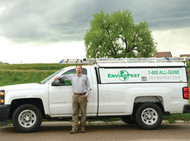 The majority of the EnviroPest fleet, serving northern Colorado, consists of the Chevrolet...