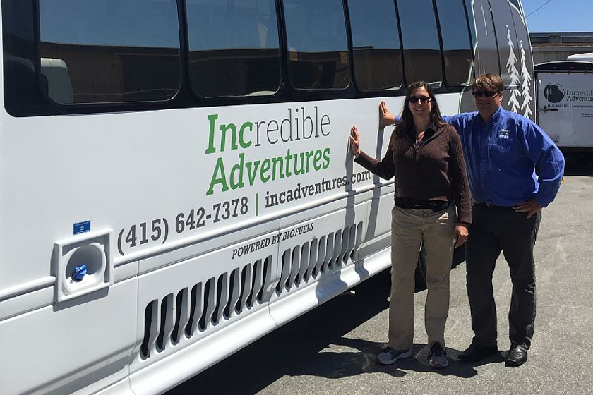 Tour Company Turns Biofuels into a Business Advantage
