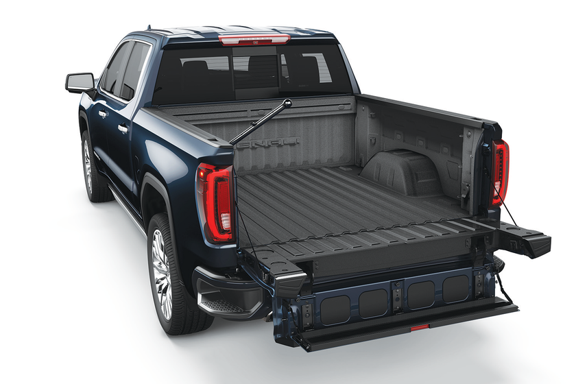 General Motors' GMC brand is heavily promoting its MultiPro tailgate with a marketing campaign...