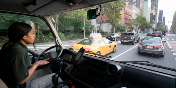 Driver-facing dashcams, such as this one from Lytx, provide an extra layer of evidence for...