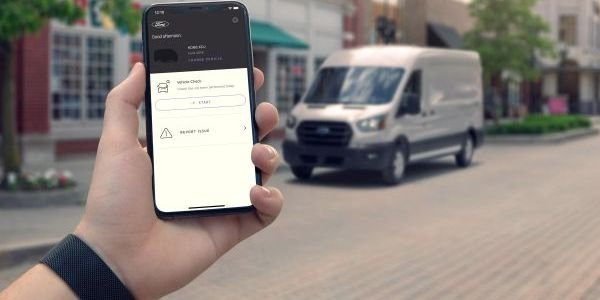 The Ford Telematics Drive app allows drivers to complete daily vehicle checks through a digital...