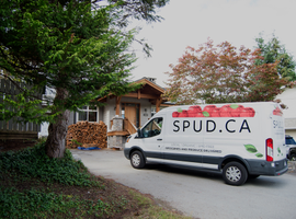 With a fleet of 60 vehicles — the company primarily runs Mercedes-Benz Sprinter vans — and 600 employees, SPUD makes upwards of 1,500 deliveries a day to homes and offices.