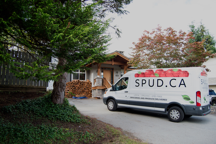 With a fleet of 60 vehicles — the company primarily runs Mercedes-Benz Sprinter vans — and 600 employees, SPUD makes upwards of 1,500 deliveries a day to homes and offices. - Photo via SPUD.