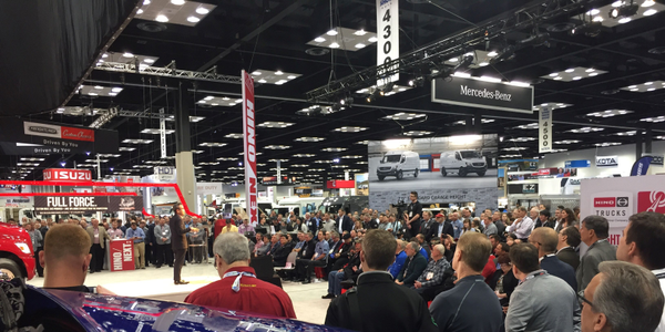 The announcement of the new Hino XL, Hino's first entry into the North American Class 8 market,...