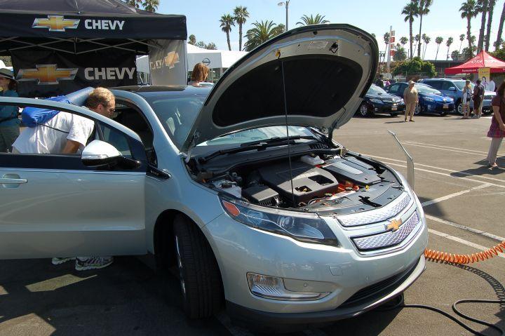 Chevy Volt Test Ride