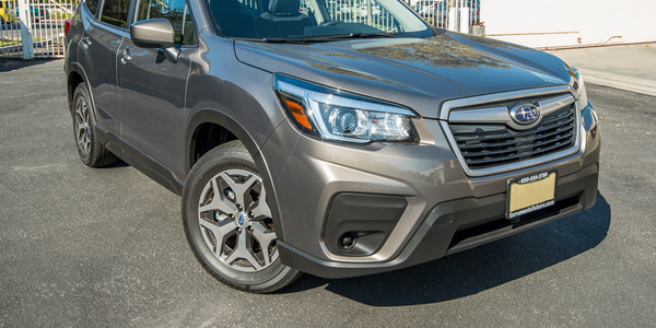 Forester still retains its unapologetic boxy stance, though subtle styling cues — such as an...